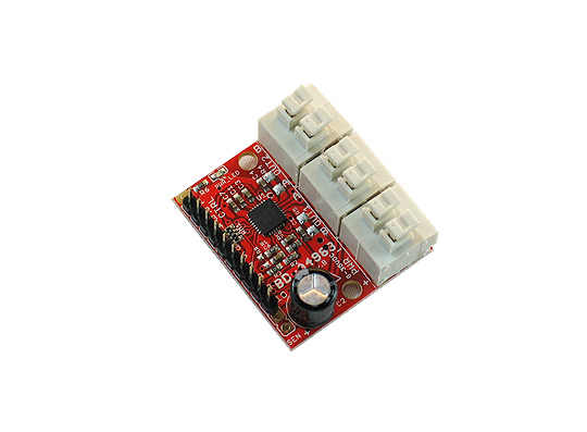 Two channel stepper motor driver