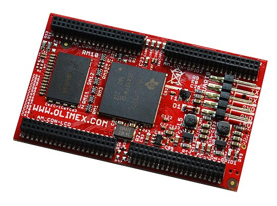 System on Chip module, with Sitara AM3352 Cortex-A8 processor