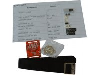 Binary Watch soldering kit with SMT components