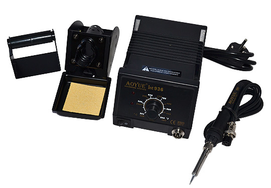 Professional Soldering System, 60W PTC heater, ESD protection