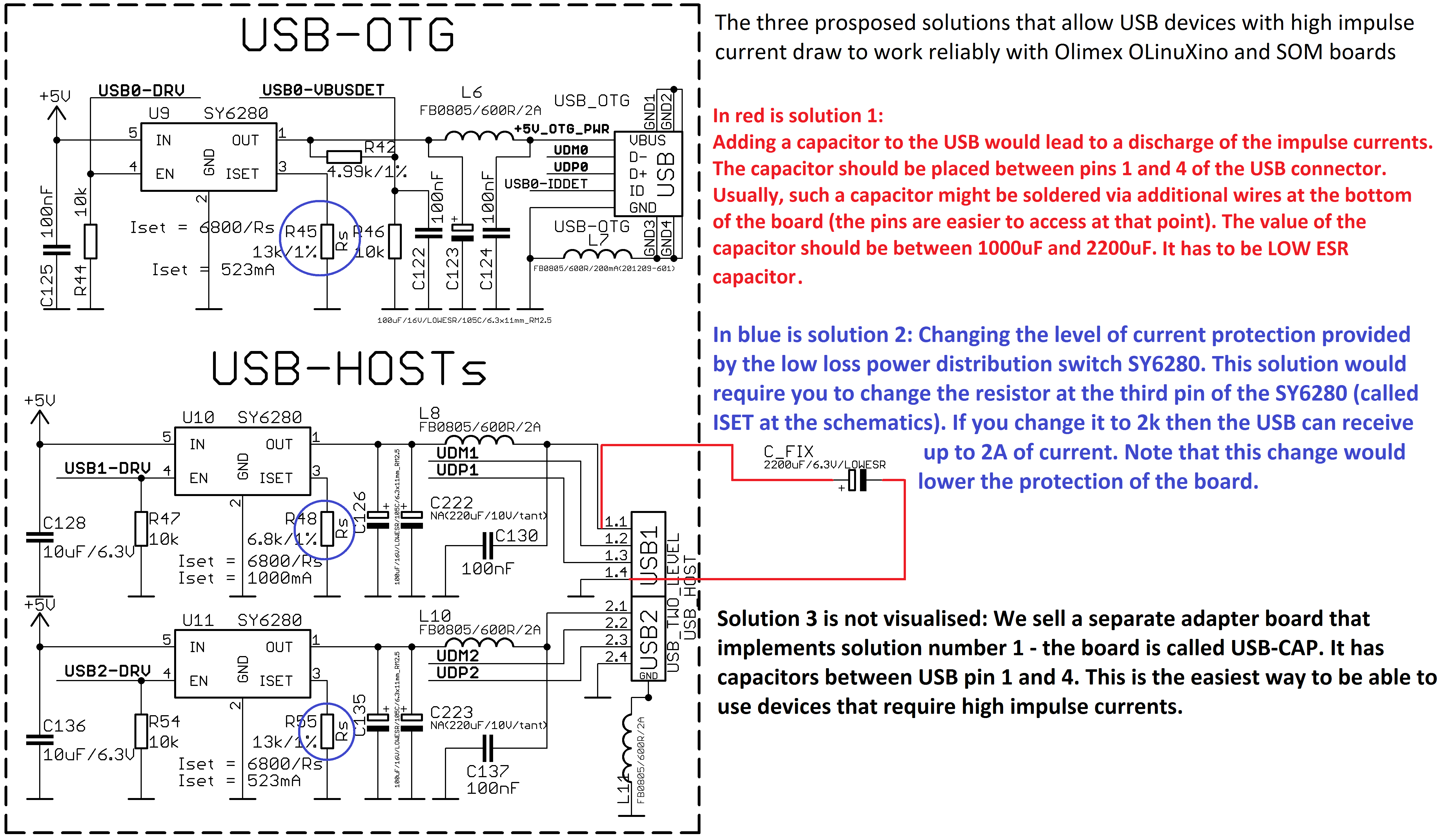 Mod usb3g in case of unstable behavior while using the 3g modem with olinuxino and som boards please refer to the image linked pooptronica