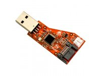 USB-SATA is board for connection of SATA hard disks to computers with USB host
